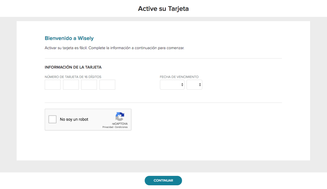 Wisely Aline Spanish Activation